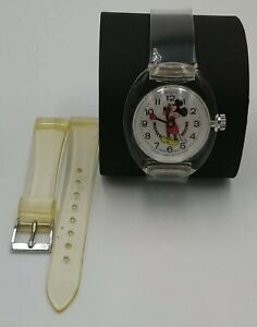 VINTAGE BRADLEY MICKEY MOUSE BUBBLE OROLOGIO MECCANICO SWISS MADE BASE ACRYL