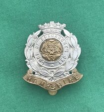 6th Bn The Hampshire Regiment TF- 100% Genuine British Army Military Cap Badge