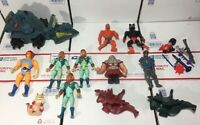 Lot Of Vintage 80s - He-Man Masters Of The Universe & Thundercat Figurines