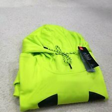 NWT Under Armour COLD GEAR LIME PULLOVER Hoodie Mens Size XL LOOSE