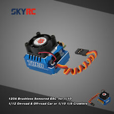 SkyRC TS120 120A LiPo Battery Brushless ESC with 6V/3A BEC for 1/10 1/12 RC Car