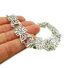 Tree of Life 925 Sterling Taxco Silver Bracelet