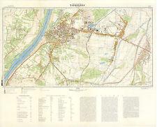 Russian Soviet Military Topographic Maps - TARNOBRZEG (Poland), 1:10K, ed.1986