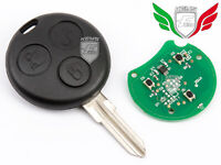 NEUF CLE TELECOMMANDE POUR SMART FORTWO K ROADSTER CITY COUPE CITY 433Mhz 3 BOUT