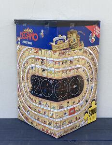 Heyes Jigsaw Puzzle 8000 pieces - 2000 Years Marino Degano Sealed Pieces