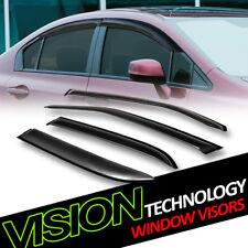 Rain/Wind Guard Vent Shade Deflector Window Visor 4PC 05-10 Chrysler 300/Magnum