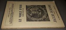 Le Voile d'Isis, Jacob Boehme, Paul Chacornac, aprile 1930, XXXV anno n.54, coll