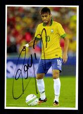 Neymar Autogrammkarte Brasilien TOP