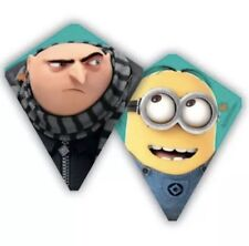 """Dispicable Me Minion Gru Reversible Kite X Kites 30"""" Skytail Included Ready Toy"""