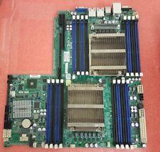 Super Micro  X9DRW-IF  LGA 2011 Socket  Motherboard w/ Heat Sink