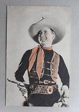 Vintage 30s Postcard. TIM McCOY.  Columbia Studios Publicity. Hollywood/ Cowboy