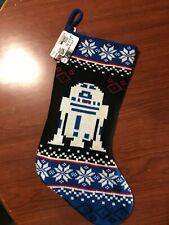 "R2 D2 STAR WARS  18"" Christmas Knit Stocking Disney Lucasfilm"
