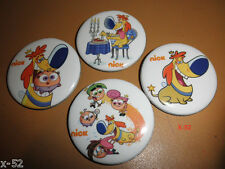 FAIRLY ODD PARENTS 4 pin FULL SET button NICKELODEON sparky SDCC comic con