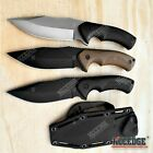 "9"" FULL TANG FIXED BLADE KNIFE w/ Kydex Sheath Hunting Knife Camping Knife"