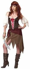 BUCCANEER BEAUTY SWASHBUCKLER ADULT HALLOWEEN COSTUME WOMEN SIZE MEDIUM