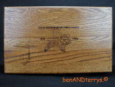 Texas Dept of Public Safety Colt 1911 Commemorative Presentation Display CaseBox
