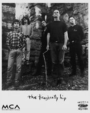 Tragically Hip Band Photo (1994 MCA Records Poster) -  B&W Photo