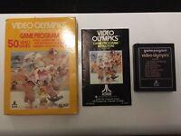 Video Olympics - BOXED (Atari 2600) *GOOD CONDITION*