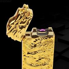 Arc USB G-sensor Electronic Rechargeable Chinese Dragon Cigarette Lighter Cool