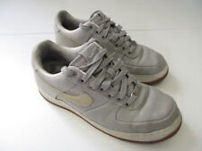 974dbf6a3526fb Men s NIKE  Air Force 1 Supreme 07 Canvas  Sz 9 US Shoes Grey