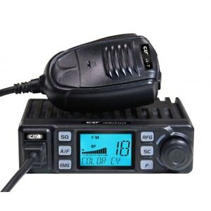 crt xenon V3 ultra compact cb radio 40-uk 40-eu channels am fm multi-standard