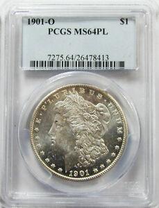 1901-O Morgan Dollar PCGS MS-64PL