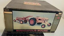 MM U w/MM 3b Plow 1/16 diecast farm tractor and Implement replica by SpecCast