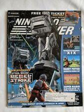 ONE 1x Nintendo Power Magazine Issue 173 Star Wars Rebel Strike *NO EON TICKET!*