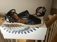 Valentino Rockstud Rolling EspadrIlle Women's Shoes Sandals Flats Sz 6 NIB $895