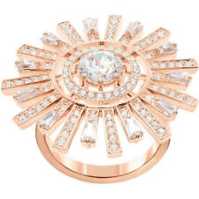 Swarovski Crystal Sunshine Cocktail Ring, Rose Gold 5470397 Size 55 / 7 / M