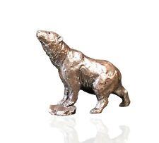 More details for bronze polar bear figure. butler & peach 2091.