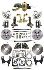 """1964-66 Chevelle GTO A Body Front Rear Disc Brake Conversion Kit 9"""" Booster Kit"""