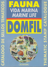 Domfil MARINE LIFE Stamp Fish Thematic Catalogue, 24th Edition, NEW