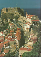 CARTOLINA SICILIA SICILY POSTCARD MESSINA SCILLA CASE E CASTELLO