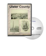 Ulster County & Kingston New York NY History Culture Genealogy 27 Books - D355