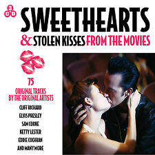 3 CD BOX SWEETHEARTS & STOLEN KISSES FROM THE MOVIES CLIFF MONTEZ COOKE COCHRAN
