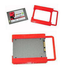 2.5 to 3.5 Adapter Bracket SSD HDD Notebook Mounting Tray Caddy Bay Post Red ~