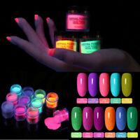 BORN PRETTY 10ml Dipping Powder Fluorescence Nail Art Dip Liquid Pro Starter Kit