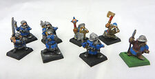 Warhammer Dwarf Clansmen warriors army lot metal oop