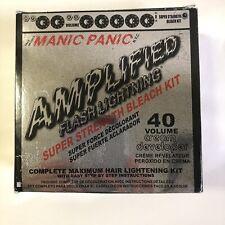 Manic Panic Amplified Flash Lightning Super Strength Bleach Kit 40 Volume