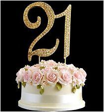 Diamantes De Imitación STRASS Gemas PINCHO Tartas Cumpleaños Aniversario Dorado
