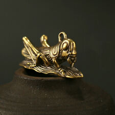 Brass Handmade Cricket Keychain Pendant Personalized Creative Pendant Key Chain
