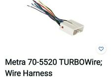 Metra 70-5520 TURBOWire; Wire Harness 2003-UP FORD $35.00