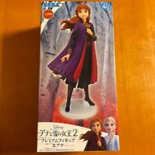 FROZEN 2 Premium Figure Anna SEGA Japan Luckykuji Disney with Box