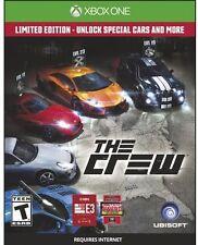 The Crew Limited Edition (XBOX One, Ubisoft) Racing Simulation - NEW *bonus DLC*