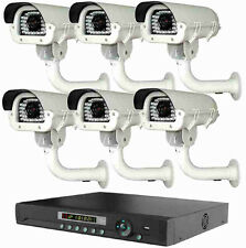 Long Distance Wireless Cctv Day/Night Transmit Video Up To 3500Ft Full System