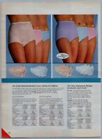 Sexy Hot Ladies In Panties , Bra's Underware PAPER PRINT AD CLIPPINGS