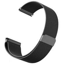 20mm Milanese Magnetic Loop Stainless Steel Watch Band Strap For Garmin Vivomove