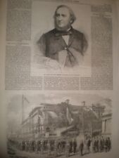 Late composer William Vincent Wallace & new Masonic Temple Shanghai China 1865