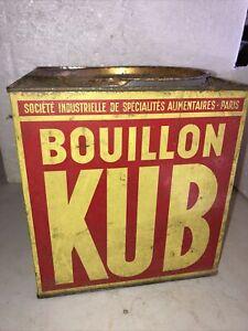 Ancienne boite BOUILLON KUB gros modele 810 Unites